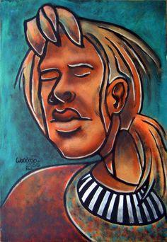 'Geniesserin' von David Joisten bei artflakes.com als Poster oder Kunstdruck $6.48