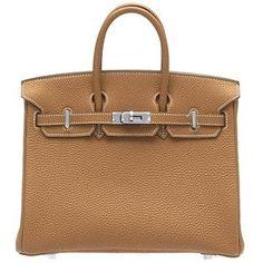 Hermes Birkin Bag - Gold ( Ha! I wish)