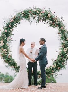Organic Seaside Wedding in Thailand