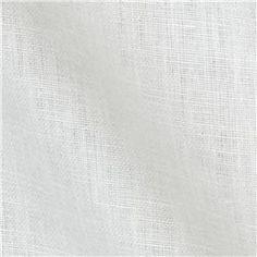 Kaufman Waterford Linen White