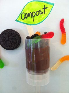 Mes Push-up Pop au compost!