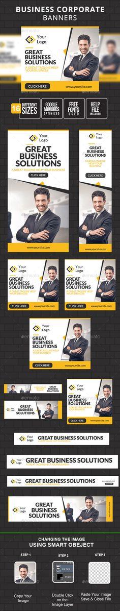MultiPurpose Business Banner Template #design Download: http://graphicriver.net/item/multipurpose-business-banner/11256457?ref=ksioks