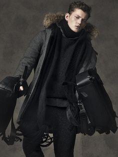 Sportweek: Christopher Paskowski Models Winter Parkas