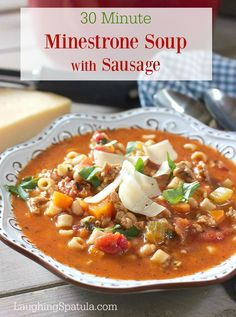 30 Minute Minestrone Soup with Sausage recipe and some exciting news to share! It'swet, wet, wet inSeattle..well, I guess it's only Marchso it's gonna be wetin Seattle for awhile longer, (insert super sad face). I am such a sun girl, I wonder at times why I love it here so much. November to May, and...Read More »
