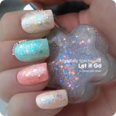 Let It Go Iridescent Glitter and Flakie Nail Polish buy handmade UK | sell handmade UK | UK marketplace | Shopsie http://www.shopsie.co.uk/product/nail-varnishes-nail-care-manicure-pedicure/let-it-go-iridescent-glitter-and-flakie-nail-polish/