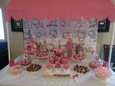 "Photo 10 of 12: Hello Kitty / Birthday ""Natalee's 6th Hello Kitty party"" | Catch My Party"