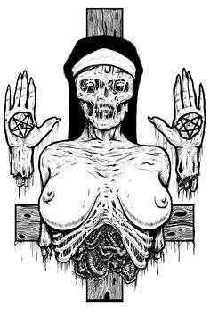 satanic nun - Google Search