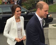 Catherine, Duchess of Cambridge and Prince William visited the Cridge Centre in Victoria