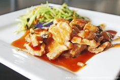 Clean Eating Recipe – Honey Maple Glazed Pork Slices | Clean Eating Recipes #cleaneating #eatclean #recipe