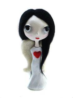 Goth Angel Art Doll