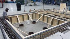 Construction de Base en Béton pour Machine Lourde - 1855 613 4773. www.betonuniversel.com
