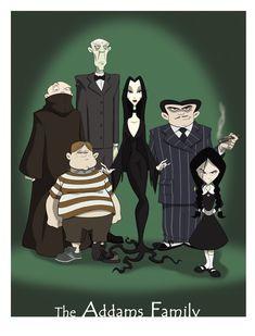 The Addams Family by Brian Mainolfi