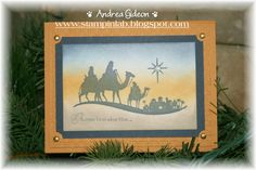 Stampin Up!  Come to Bethlehem  by Stampinlab