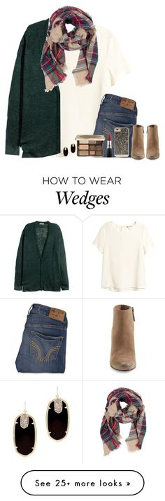 """""""I'm waiting on you..."""" by bloom17 on Polyvore featuring H&M, Hollister Co., Dolce Vita, Too Faced Cosmetics, MAC Cosmetics, Kendra Scott and Case-Mate"""