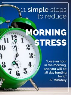 Reduce Morning Stress In 11 Simple Steps - Healthy Living How To Health And Nutrition, Health Tips, Health And Wellness, Health Fitness, Home Remedies For Uti, Uti Remedies, Living A Healthy Life, How To Relieve Stress, Reduce Stress