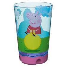 Peppa Pig Zak Designs 9oz Plastic Tumbler Pink/Blue, Red