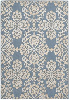 Safavieh Cottage COT908F Light Blue / Beige Rug