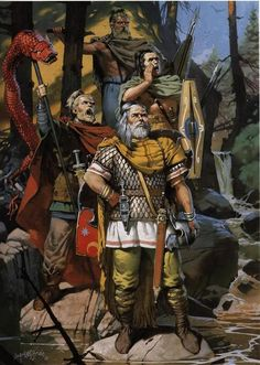 Chatti Germanic Tribe | Northern Germanic Tribes: Cherusci, Jutes, Saxons.