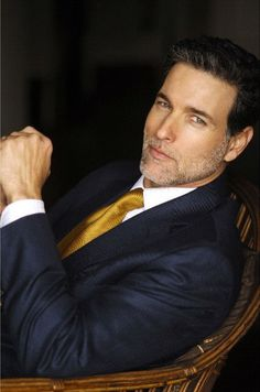 Eye Candy in a Suit... he looks delicious!  Does anyone have a name for all this loveliness?
