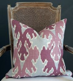 purple + blue Kelly Wearstler pillow