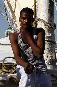 Nubian boatman