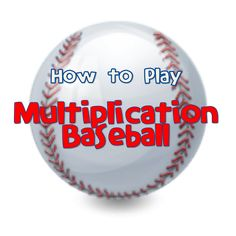 multiplication baseball...a fun, simple game to review facts with only a set of flashcards. From UsingMyTeacherVoice