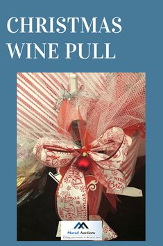 Learn how to wrap up your wine give it a fun holiday twist! Christmas Wine, Christmas Wrapping, Wine Pull, Holiday Fun, Holiday Decor, Fundraising, Wraps, Instagram, Rolls