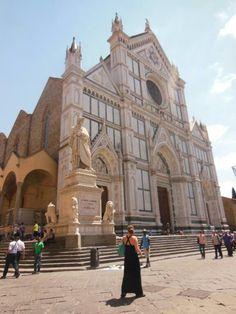 Iglesia de la Santa Croce de #Florencia. #EuropeosViajeros #Firenze #Florence #Europe #Europa #Italia #Italy #Travel #Viaje #Turismo #Tourism #Toscana #Tuscany #church