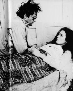François Truffaut, Isabelle Adjani, L'Histoire d'Adèle H 1975 .