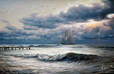 Адамов Алексей - 'Море. Перед штормом'