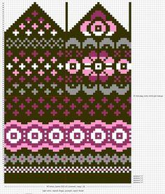 Krāsaini cimdu raksti - Rokdarbu grāmatas un dažādas shēmas - draugiem. Knitted Mittens Pattern, Knit Mittens, Knitted Gloves, Knitting Socks, Knitting Charts, Knitting Stitches, Knitting Patterns, Knitting Designs, Knitting Projects