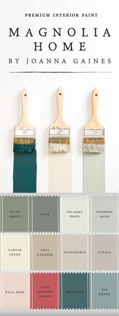 Magnolia Home paint colors