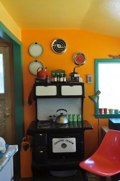 "Janet's ""Summery Citrus"" Room 