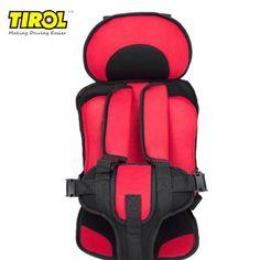 Asiento de seguridad port/átil ajustable para ni/ños con asiento de seguridad para ni/ños de 4 a 8 a/ños
