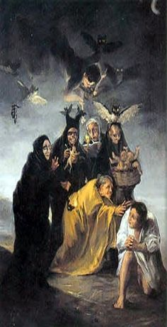 Scène d'exorcisme - Francisco Goya