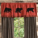 Black Bear Decor & Bear Gifts - Black Forest Decor. Teal instead of Red though.