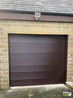 Whether you're wanting a grey roller garage door, a black roller garage door or even garage roller shutters in rosewood, Garolla has the best roller doors for you! Garage Doors Uk, Garage Door Paint, Garage Door Decor, Garage Door Styles, Garage Door Makeover, Garage Door Design, Roller Doors, Roller Shutters, Garage Door Installation