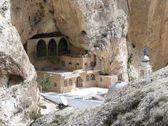 Αποτέλεσμα εικόνας για Monastery of St. Thekla, Mar Takla, Syria