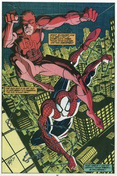 Daredevil/Spider-Man •Erik Larsen