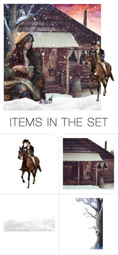 """""""Home at Last"""" by thresholdpaperart ❤ liked on Polyvore featuring art"""