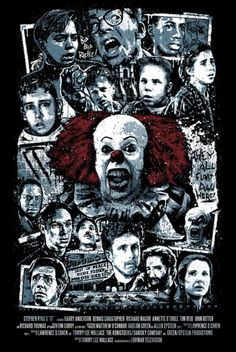 Stephen King | Sterio Design - Pennywise the clown
