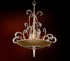 The crystal is stunning- Corbett Lighting