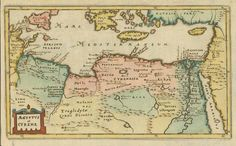 """""""Aegyptus et Cyrene"""" Hand-colored copper etching Originally designed by Philip Cluever (1697) this map was published by John Nicholson London, 1711 Map Tunisia (Carthago to the Red Sea, from Sicily to Cyprus (Eastern Mediterranean).Malta shown as Melita. Original antique print For a 30% discount enter MAPS30 at chekou Antique Maps, Antique Prints, Hermes Mythology, Malta Map, Alchemy Art, House Map, Red Sea, Wood Engraving, Cyprus"""
