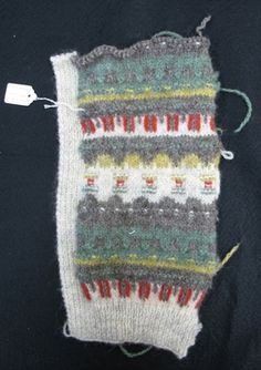Bohus stickning swatch green meadow