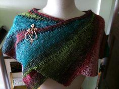 great wrap...love the yarn!!  and it has a free pattern...favulous!!!!    Ravelry: jillz's Wingspan