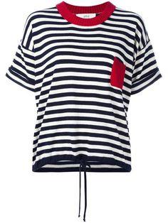 Vanessa Bruno Athé трикотажная футболка в полоску