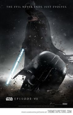 Fan made poster of the new Star Wars…. Hmm, this looks very similar to another movie poster..