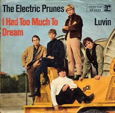 Electric Prunes - I Had Too Much to Dream Last Night (1967) The song written by Annette Tucker and Nancie Mantz, and was recorded in late 1966. Released as the band's second single, it reached # 11 on the Billboard Hot 100 and # 49 in the UK in 1967.  It was also the lead track of the band's debut album, and became more widely known as the opening track on the influential Nuggets compilation of garage rock and early psychedelic music, released in 1972.