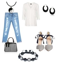 """""""6/7 Casual Outfit"""" by direyna on Polyvore featuring Topshop, Bebe, J.Crew, Bling Jewelry and Carolina Glamour Collection"""