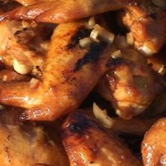 SUPER BOWL....Chicken Wings with Whiskey Sauce Recipe | BBQ Pit Boys